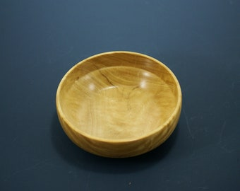 Wooden Bowl from Yellow Heart, Ring Bowl, Candy Bowl, Display Bowl