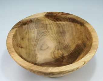 Figured Maple Salad Bowl, B3025