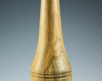 Wooden Hand Made Oak Vase, V1708