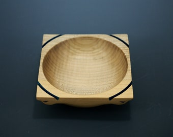 Ring Bowl or Dresser Bowl made from Maple B3088