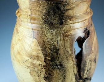 Elm Burl Vase, Elm Burl Art Display