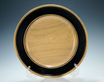 Art Display Platter made from Maple Wood, K3092
