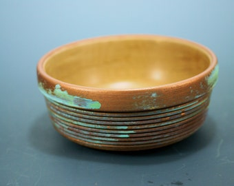 Wooden Bowl from Maple, Western Maple Wood Bowl,