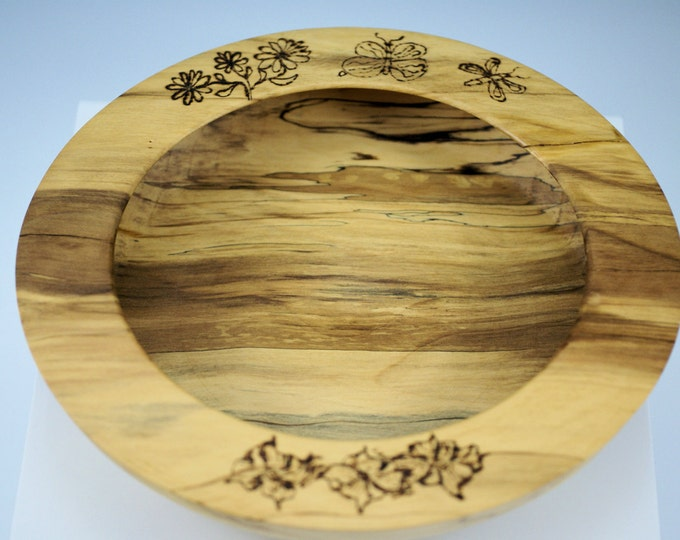 Featured listing image: Wooden Chinese Elm Bowl Center Piece, B2140