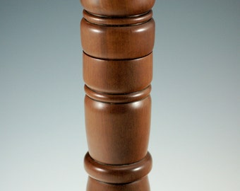 Wooden Pepper Mill, Custom Made Wood Pepper Mill from Zappote, H2174