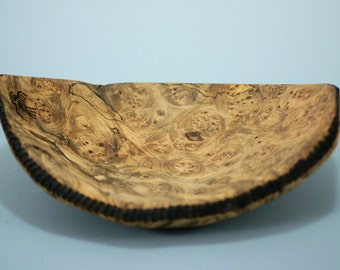 Maple Burl Art Piece, Candy Dish, Fruit Bowl, or even Dresser Dish, A3057
