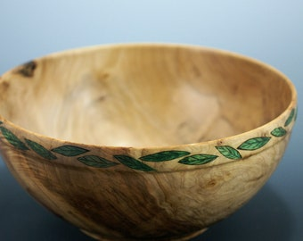 Large Maple Salad Bowl, Family Salad Bowl, B3110