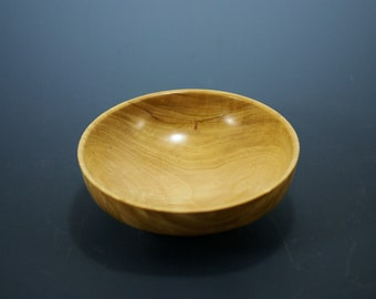 Wooden Bowl from Yellowheart, Ring Bowl,A3164