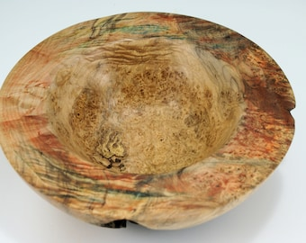 Maple Burl Art Display Bowl Centerpiece, B3009