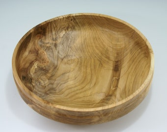 Figured Maple Salad Bowl, B3024