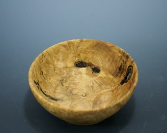 Maple Burl Wooden Bowl, Natures Art Bowl,
