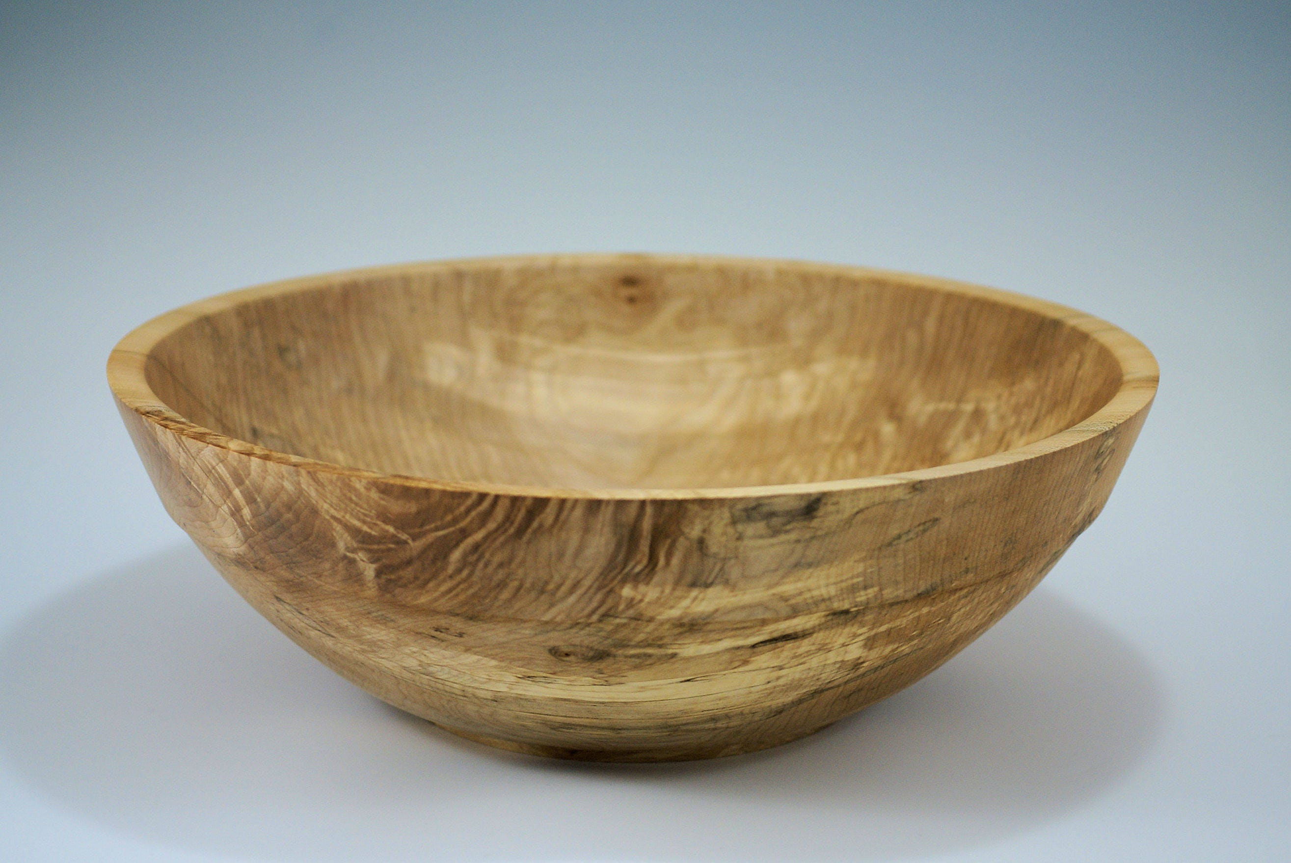 large wooden salad bowl. Large Wooden Salad Bowl, Party Size Wood Hand Made Bowl From Maple, B2849 W