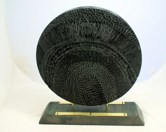 Ebonized and Carved Circle of Life Paths