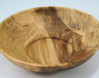 Salad Bowl from Figured Maple, B3027