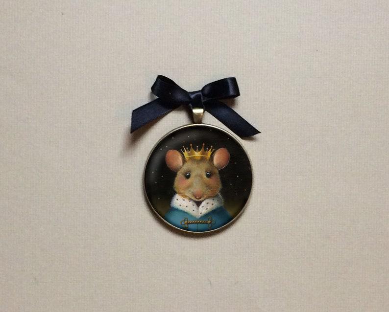 Mouse King Ornament Nutcracker Mouse Ornament Mouse image 0