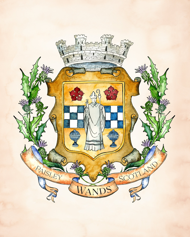 Create Your Own Custom Family Crest / Custom Coat Of Arms