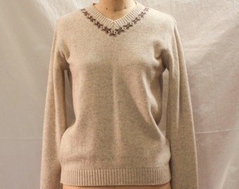 Capri Wool Sweater, Pullover