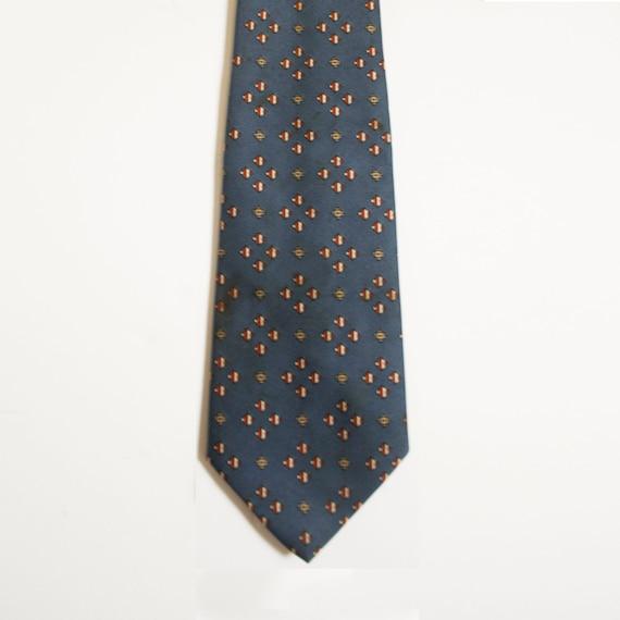 Cobalt Montgomery Ward's Tie