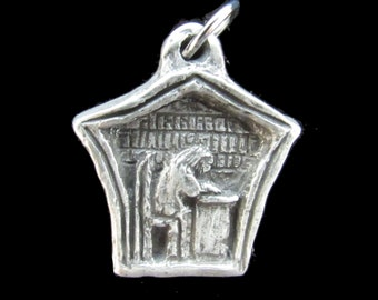 Handmade Medal of St. Isidore of Seville, Patron of IT Professionals, Scholars, Scientists