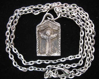 St. Genesius: Patron of Actors and Actresses, Handmade Necklace