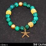 Starfish - Chrysocolla Bracelet