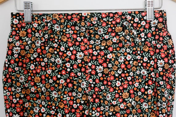 Vintage 90s Super Cute Kawaii Floral Print Funky … - image 3