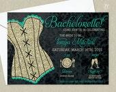 Lingerie Bachelorette Invitation - Girls Night Out Invitation - Bachelorette Invitation - Hen Party Invitation - Girls Night Invitation