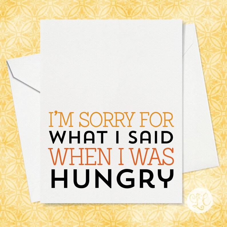 I'm Sorry Card  I Love You Card  Card for Husband  Card image 0
