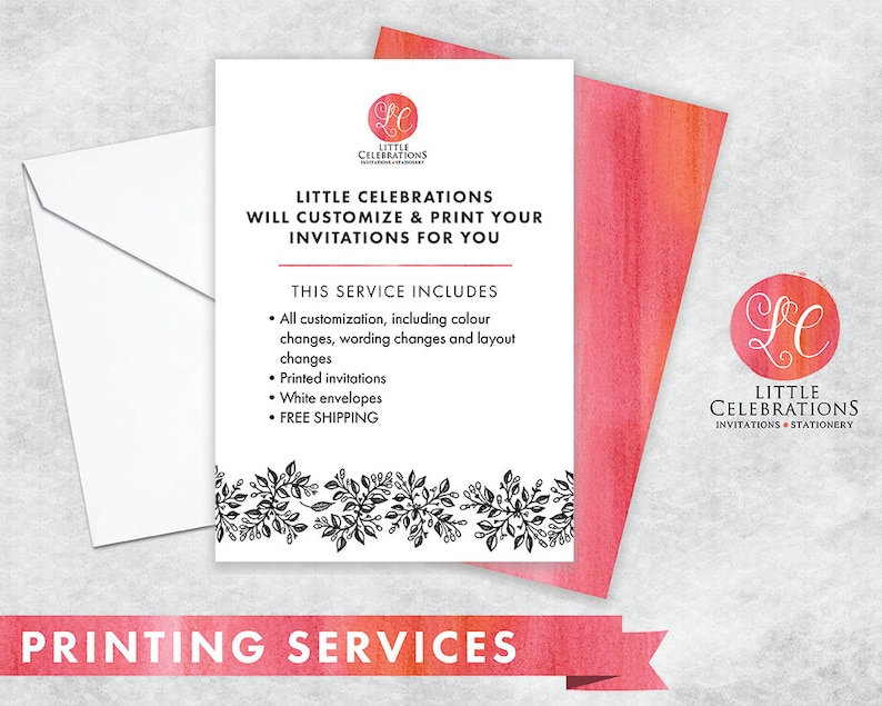 PRINT MY INVITATION  Print Service for Invitations  Free image 0