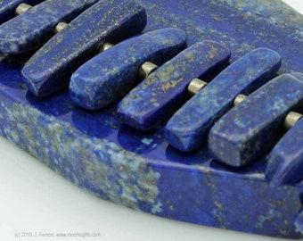 Lapis lazuli stick bracelet