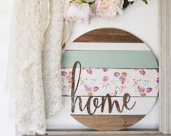 Barnwood Round Signs