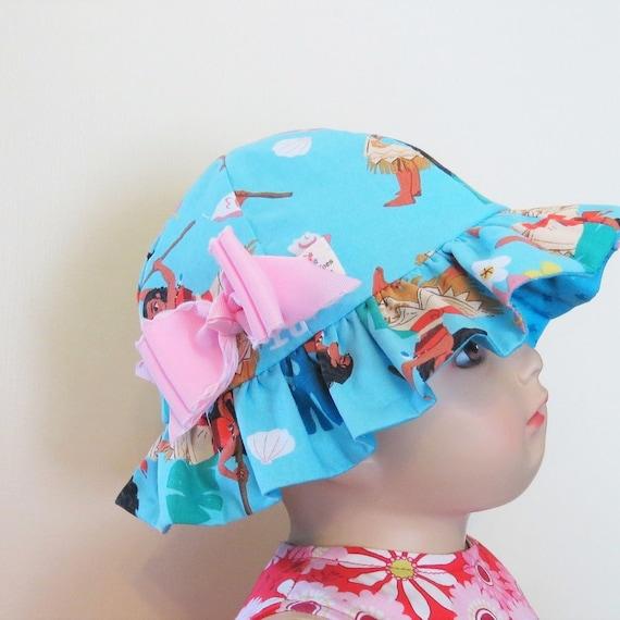 Children/'s Cotton Bucket Hat Moana