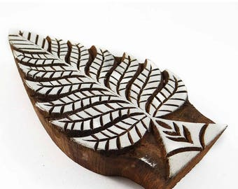 Traditional Fish Design Pattern Wooden Printing Block PB3453A Decorative Block On Fabric Indian Art Wood Craft By 1 Piece Handmade Stamp