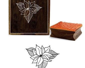 d879c2223a Square floral stamp | Etsy