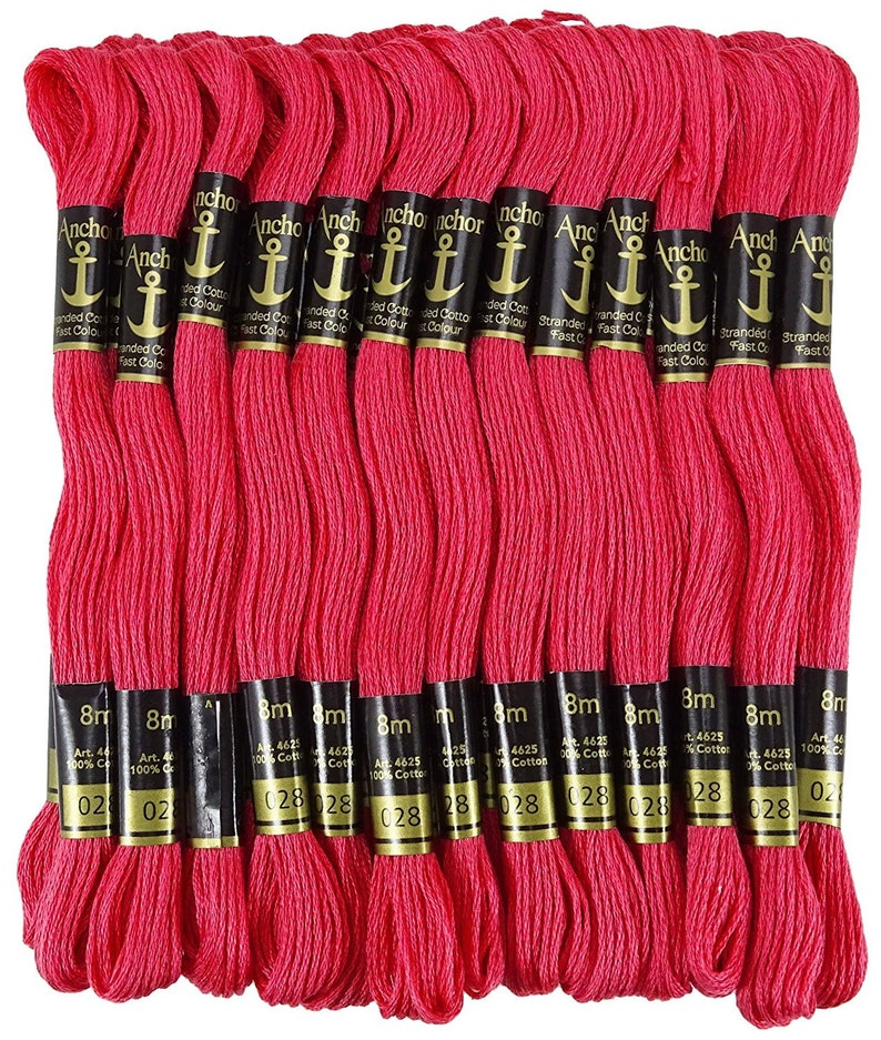 Uesh-36 Skeins Of Thread Multicolored For Embroidery Cross Stitch Knitting Bracelets Badges