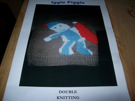 Items Similar To Own Design Iggle Piggle Jumper Knitting Pattern On Etsy
