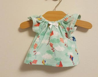 12 inch Waldorf Doll Clothes - Kites Nightgown fcba78e8d