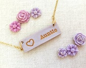 Mama, oma, grandma, grammy, yiayia, mewmaw, abuela, bubie, aunt, Mothers Day Gift 2020 , personalized stamped word for nana, nonna, auntie