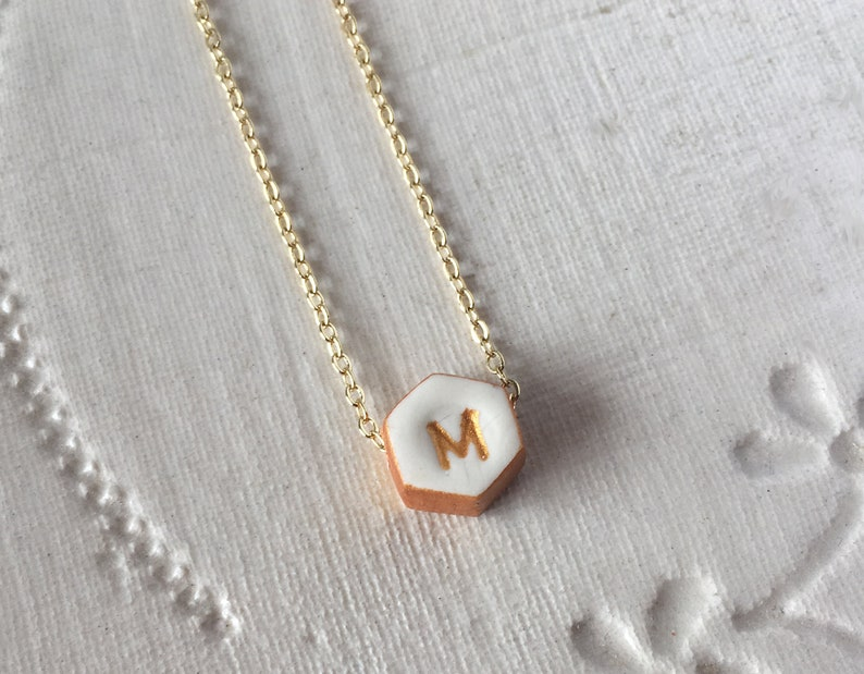 stamped initial nana oma aunt nonna yiayia mama Kids Initial colourful necklace,l personalized gift for mom