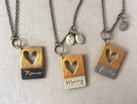 """18ct Silver Plated Diamante """"Mom"""" Heart Shaped Chain//Necklace /& Pendant Set"""