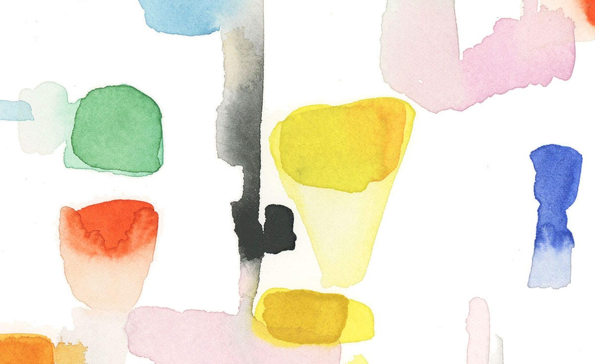 Colorful Abstract Art, Colorful Art, Watercolor Print, Abstract ...