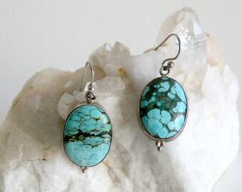 Turquoise Sterling Earrings