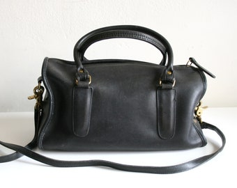 Black Coach Bonnie Cashin Speedy Handbag