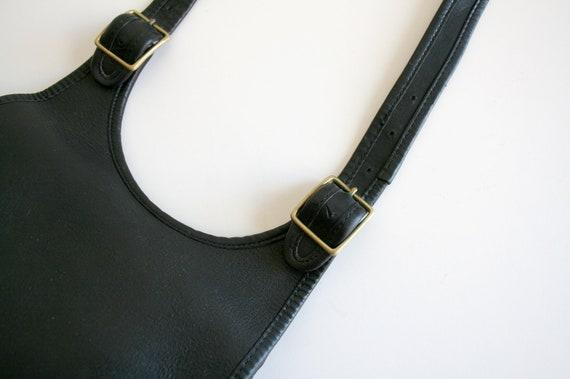 Coach Saddle Bag | Bonnie Cashin NYC | Black Leat… - image 3