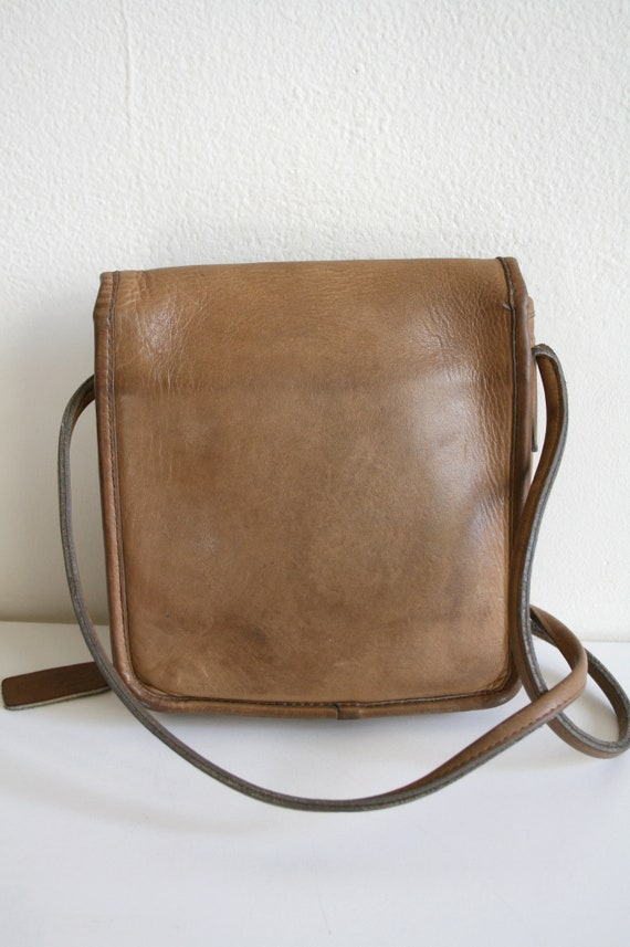Coach Leatherware Satchel Bag   Bonnie Cashin NYC… - image 3