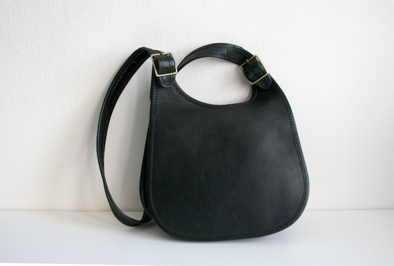 Coach Saddle Bag | Bonnie Cashin NYC | Black Leath