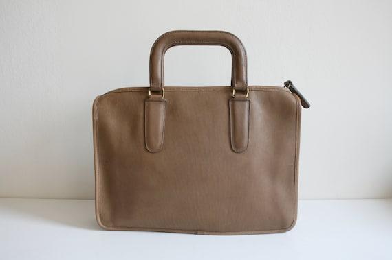 Coach Leatherware Briefcase Bag   Bonnie Cashin N… - image 3