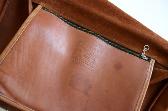 Coach Briefcase Bag   Bonnie Cashin NYC   British… - image 9
