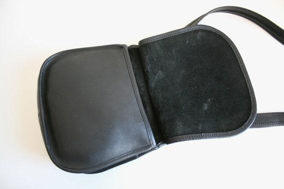 Coach Saddle Bag | Bonnie Cashin NYC | Black Leat… - image 5