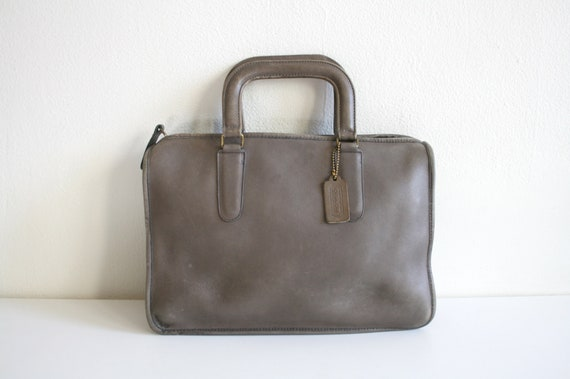 Coach Leatherware Briefcase Bag | Bonnie Cashin NY